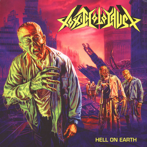Toxic Holocaust - Hell On Earth Green / Pink Vinyl Edition
