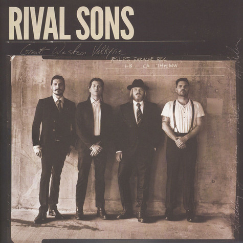 Rival Sons - Great Western Valkyrie Green Vinyl Edition