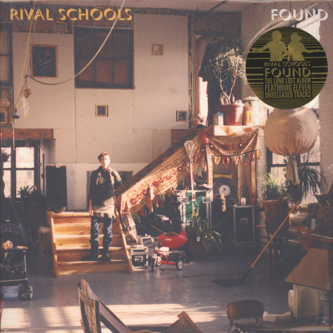 Rival Schools - Found Clear / Green Vinyl Edition
