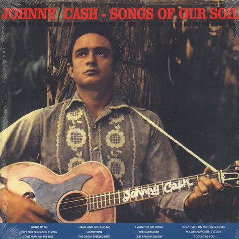 Johnny Cash - Song Of Our Soil