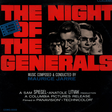 Maurice Jarre - Original Soundtrack Recording:The Night Of The Generals