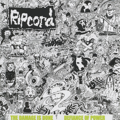Ripcord - Damage Is Done / Defiance Of Power - Discography 1