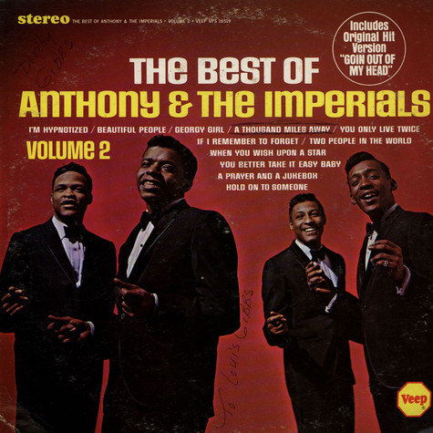 Little Anthony & The Imperials - The Best Of Volume 2