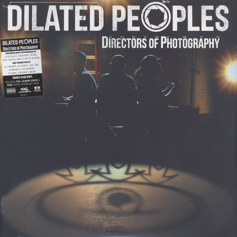 Dilated Peoples - Directors Of Photography Clear Vinyl Edition