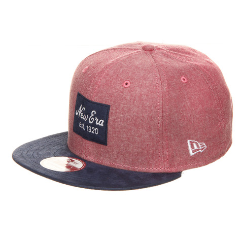 New Era - New Era Suede Patch Strapback Cap