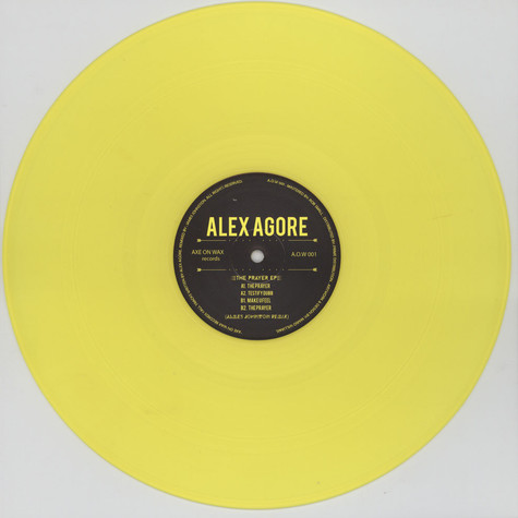 Alex Agore - The Prayer EP