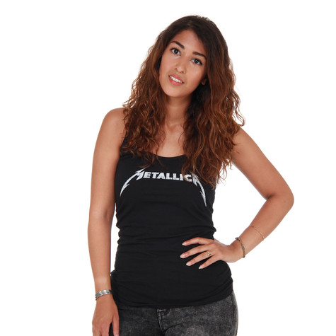 Metallica - Logo Racerback Women Tank Top