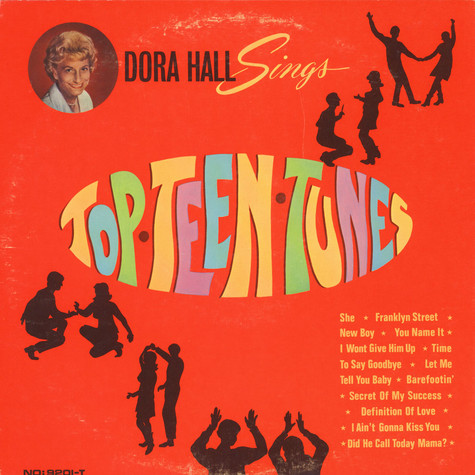 Dora Hall - Sings Top.Teen.Tunes