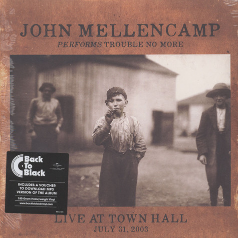 John Mellencamp - Performs Trouble No More Live At Town Hall Back To Black Edition