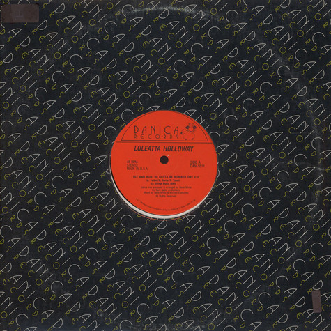 Loleatta Holloway - Hit And Run '88 Gotta Be Number One