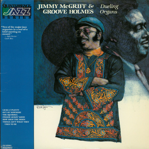 "Jimmy McGriff, Richard ""Groove"" Holmes - Dueling Organs"