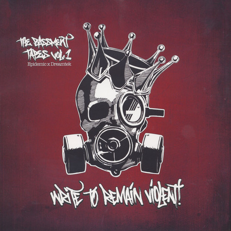 Epidemic x Dreamtek - The Bassment Tapes Volume 1: Write To Remain Violent Black Vinyl Edition