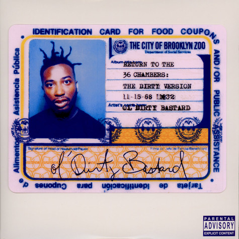 Ol' Dirty Bastard - Return To The 36 Chambers: The Dirty Version Deluxe Edition