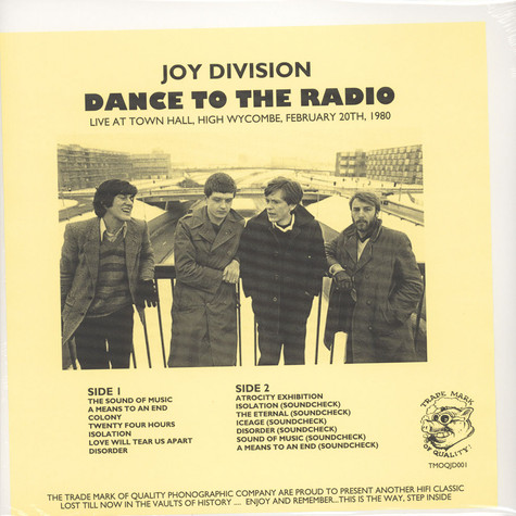 Joy Division - Dance To The Radio