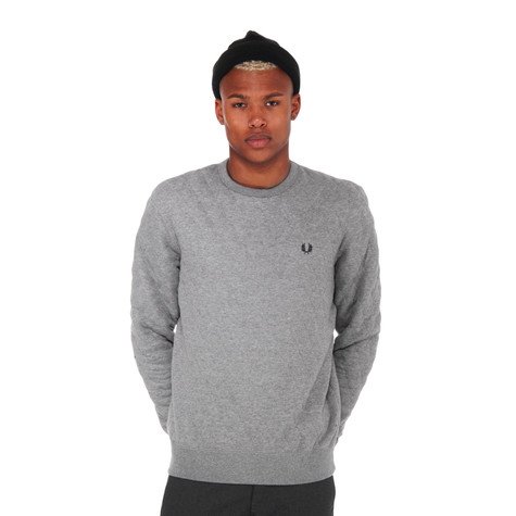 Fred Perry - Quilted Marl Crewneck Sweater