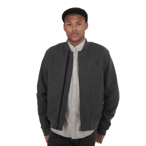 Fred Perry - Melton Wool Bomber Jacket