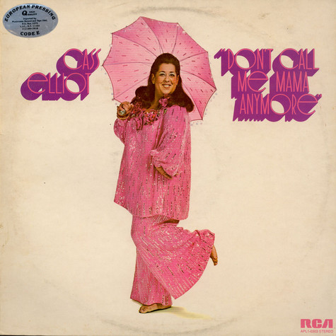 Cass Elliot - Don't Call Me Mama Anymore