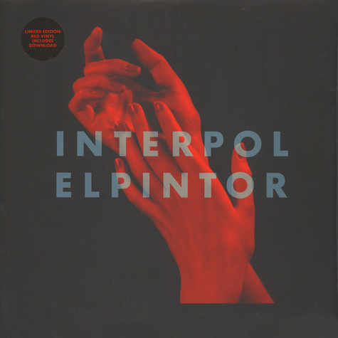 Interpol - El Pintor Red Vinyl Edition