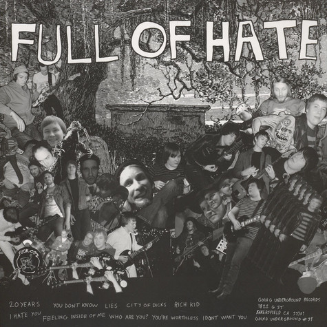 Achtungs, The - Full Of Hate