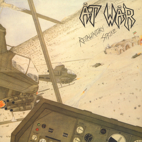 At War - Retaliatory Strike Black Vinyl Edition