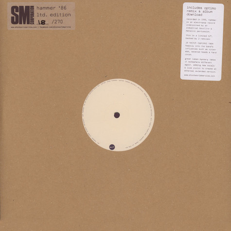 Sm Corporation, The - Hammer '86