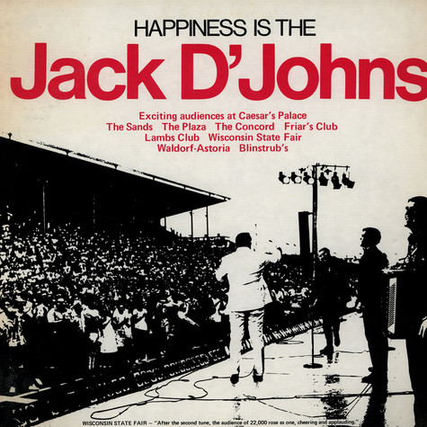 Jack D'Johns, The - Happiness Is The Jack D'Johns