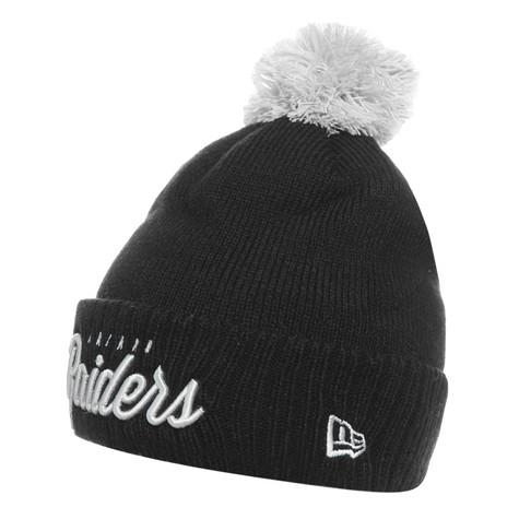 New Era - Oakland Raiders Pom Time 2 Beanie