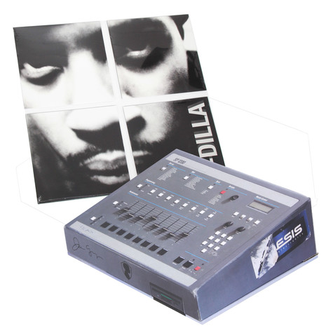 J Dilla aka Jay Dee - The King Of Beats SP 1200 Box
