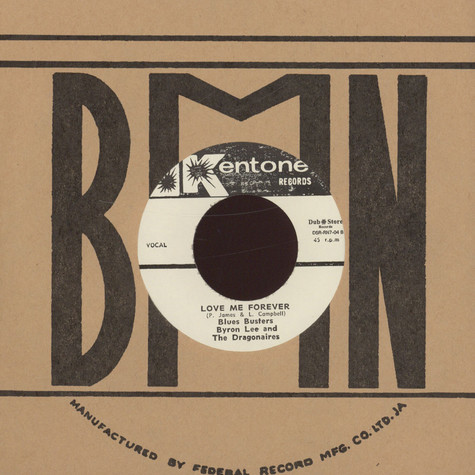 Blues Busters, The / Byron Lee & The Dragonaires - I Won't Let You Go / Love Me Forever