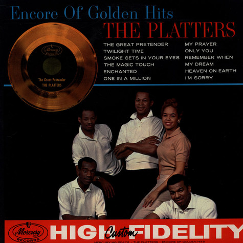 Platters, The - Encore Of Golden Hits