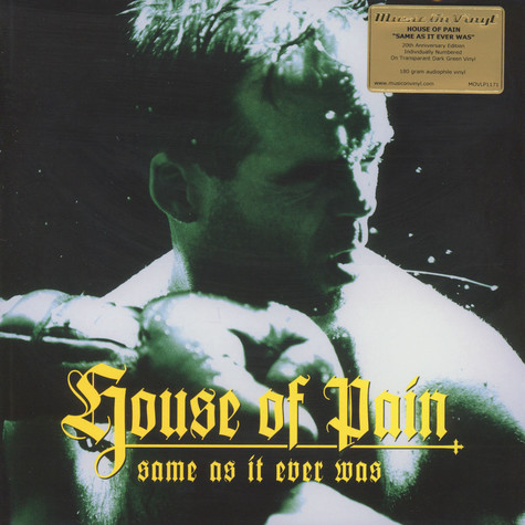 House Of Pain - Same As It Ever Was Green Vinyl Edition