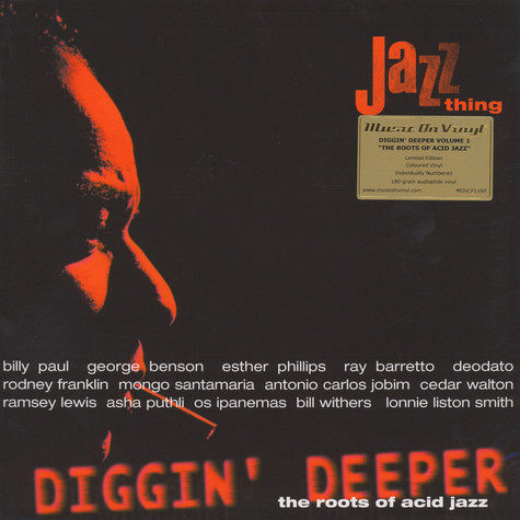 V.A. - Diggin' Deeper Volume 1 - The Roots Of Acid Jazz