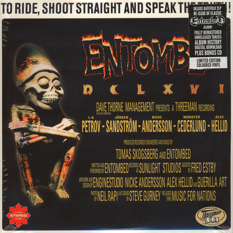 Entombed - To Ride Shoot Straight & Speak The Truth
