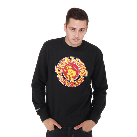 Mitchell & Ness - Cleveland Cavaliers NBA Team Logo Sweater