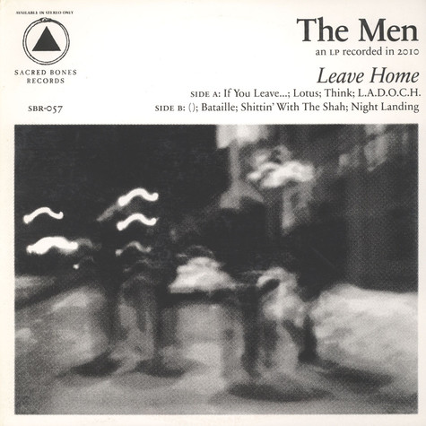Men, The - Leave Home