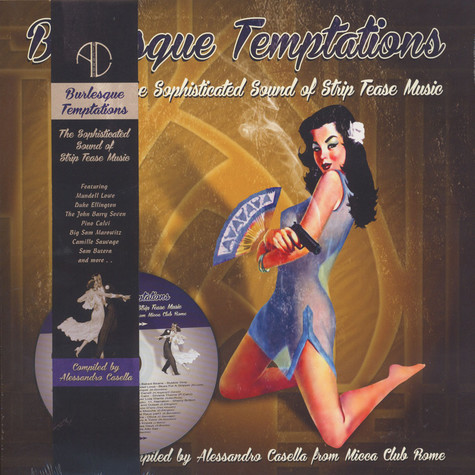 V.A. - Burlesque Temptations - The Swinging Sound Of Strip Music Volume 3