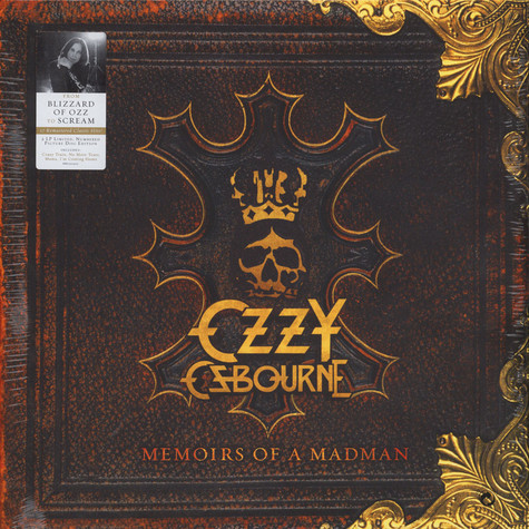 Ozzy Osbourne - Memoirs Of A Madman Picture Disc Edition