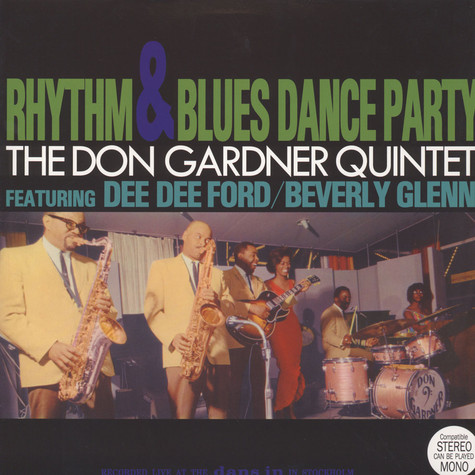 Don Gardner Quintet, The - Rhythm & Blues Dance Party