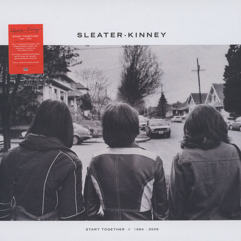 Sleater-Kinney - Start Together Colored Vinyl Edition