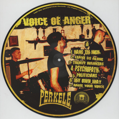 Perkele - Voice of Anger Picture Disc