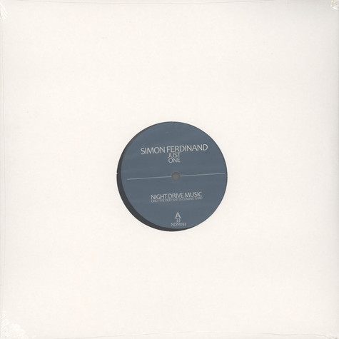 Simon Ferdinand - Just One EP