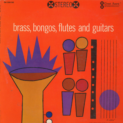 Grand Award All Stars, The - Brass, Bongos, Flutes, And Guitars