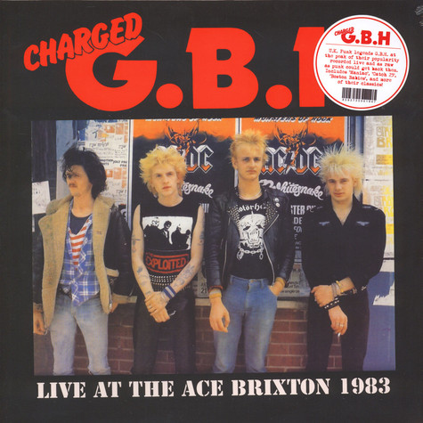 G.B.H. - Live At The Ace Brixton 1983