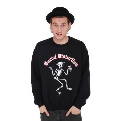 Social Distortion - Skeleton Crewneck Sweater