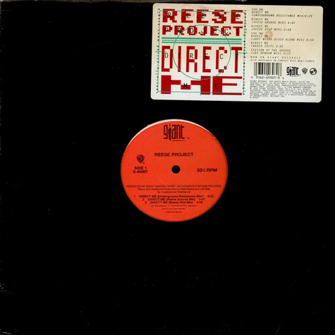 Reese Project, The - Direct Me