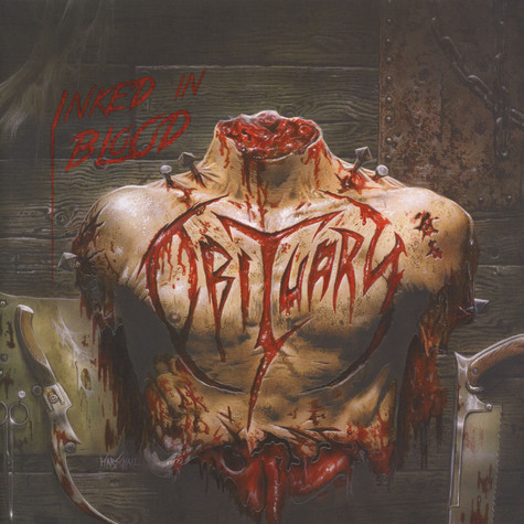 Obituary - Inked In Blood Black Vinyl Edition