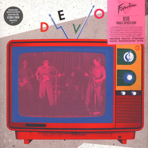 Devo - Miracle Witness Hour - Live In Ohio 1977