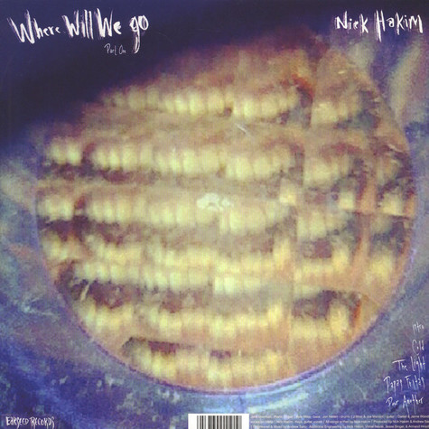 Nick Hakim - Where Will We Go Pt.1 & 2 Limited Edition
