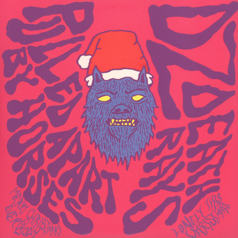 Pulled Apart By Horses / DZ Deathrays - Merry Christmas Everyone / Lonely This Christmas