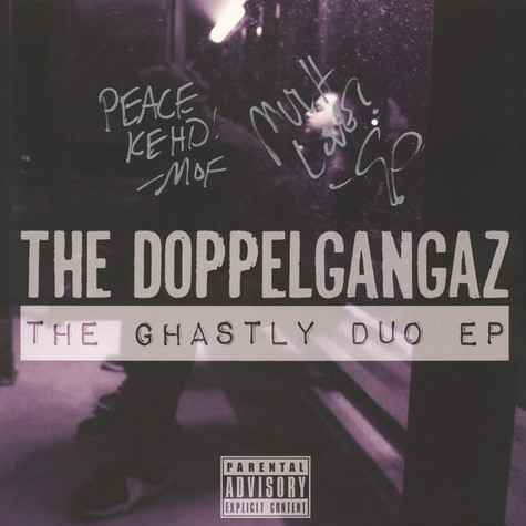 Doppelgangaz, The - The Ghastly Duo EP Signed Edition